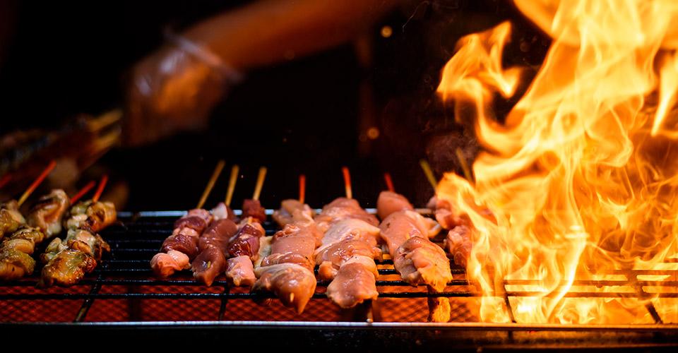 BBQ buffetten vuur - De Herberg Vorden