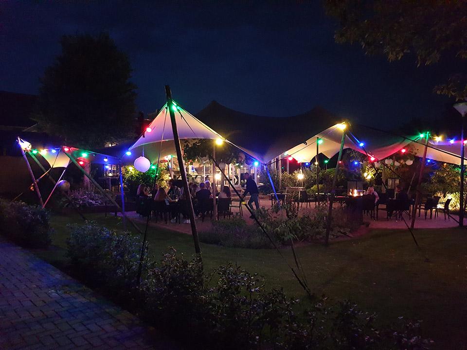 Feesten en partijen feest in de tuin - De Herberg Vorden